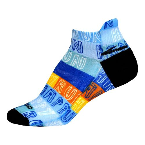 Brooks Run Happy Tab Socks - Multi L