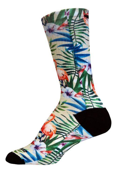 Brooks Pacesetter Summertime Fun Crew Sock - Multi S