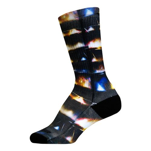Brooks Pacesetter Galaxy Crew Socks - Multi L