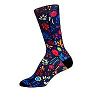 Brooks Pacesetter Run Happy Floral Crew Sock