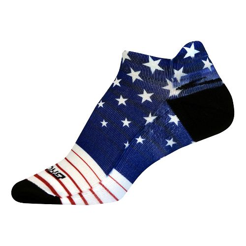 Brooks Pacesetter Stars and Stripes Tab Socks - Multi M