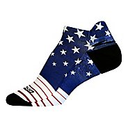 Brooks Pacesetter Stars and Stripes Tab Socks
