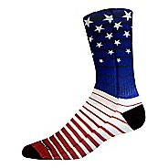 Brooks Pacesetter Stars and Stripes Crew Sock