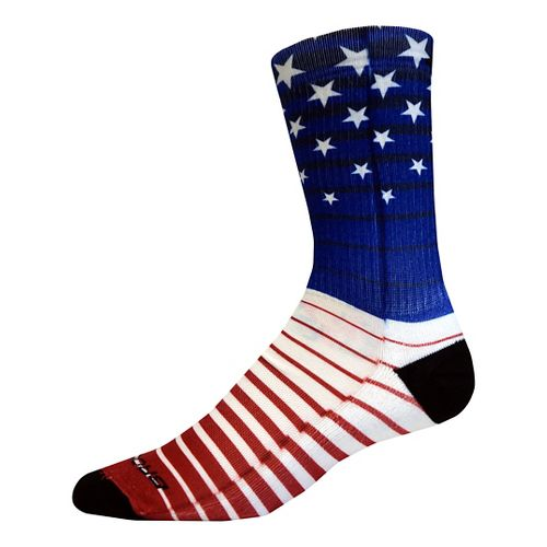 Brooks Pacesetter Stars and Stripes Crew Sock - Multi M