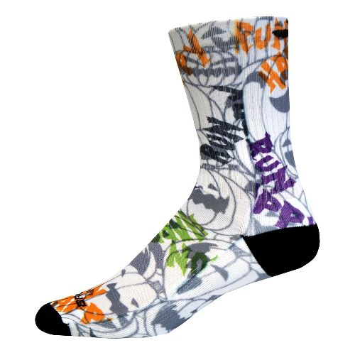 Brooks Pacesetter Spooky Fun Crew Socks - Multi L