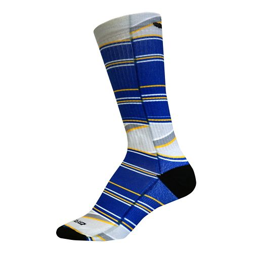 Brooks Pacesetter Prep Crew Socks - Multi L