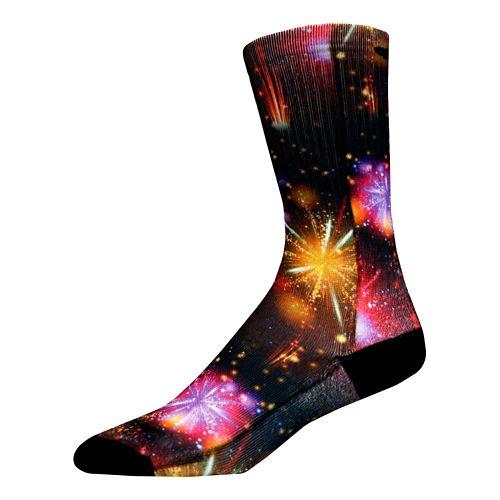 Brooks Pacesetter Celebration Crew Socks - Multi L