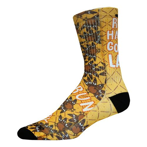 Brooks Pacesetter Thanksgiving Crew Socks - Multi L