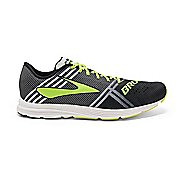 Mens Brooks Hyperion Racing Shoe - Black/White 11