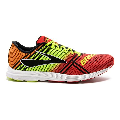 Mens Brooks Hyperion Racing Shoe - High Risk Red/Night 10.5