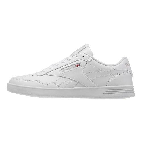 Mens Reebok Club MEMT Casual Shoe - White/Steel 9.5