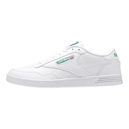 Mens Reebok Club MEMT Casual Shoe - White/Green 6.5