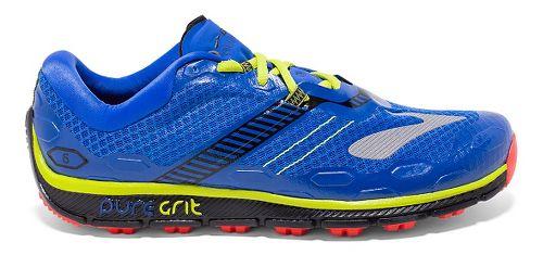 Mens Brooks PureGrit 5 Running Shoe - Electric Brooks Blue 14