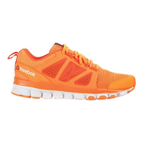 Womens Reebok Hexaffect Run 3.0 MTM Running Shoe - Electric Peach/Red 8