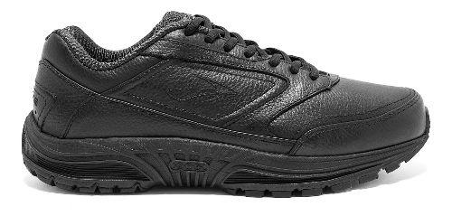 Mens Brooks Dyad Walker Walking Shoe - Black 10.5