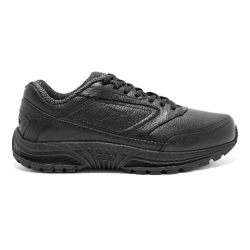 Mens Brooks Dyad Walker Walking Shoe - Black 12.5