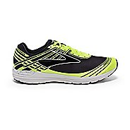 Mens Brooks Asteria Racing Shoe - Black/Safety Yellow 11