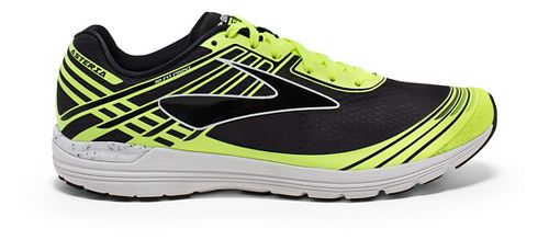 Mens Brooks Asteria Racing Shoe - Black/Safety Yellow 8