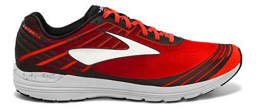 Mens Brooks Asteria Racing Shoe - Cherry/Black 10.5