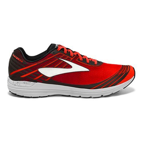 Mens Brooks Asteria Racing Shoe - Cherry/Black 9