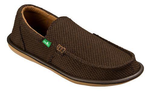 Mens Sanuk Chibalicious Casual Shoe - Brown 10