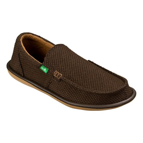 Mens Sanuk Chibalicious Casual Shoe - Brown 10