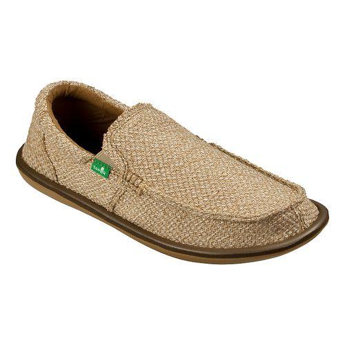 Mens Sanuk Chibalicious Casual Shoe - Beige 12
