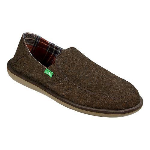 Mens Sanuk Vice TX Casual Shoe - Brown 13
