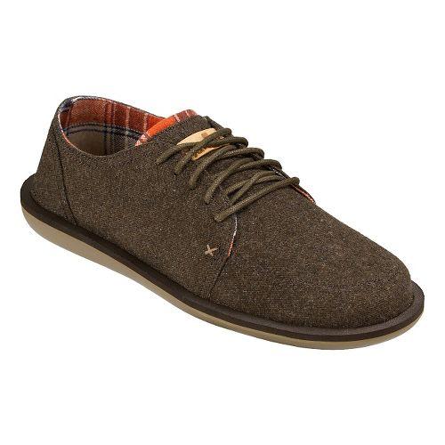 Mens Sanuk Vista TX Casual Shoe - Brown 10