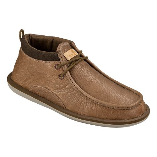Mens Sanuk Walla Deluxe Casual Shoe - Brown 12