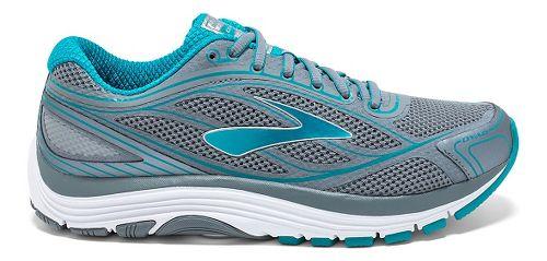 Womens Brooks Dyad 9 Running Shoe - Primer Grey/Capri 7.5