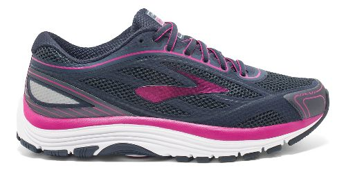 Womens Brooks Dyad 9 Running Shoe - Blue/Pink 7.5
