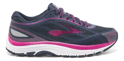 Womens Brooks Dyad 9 Running Shoe - Blue/Pink 8