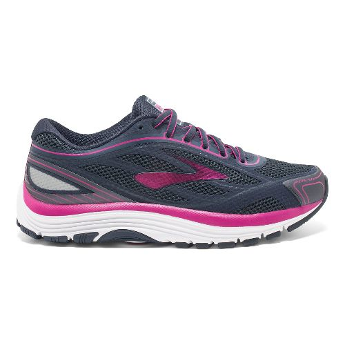 Womens Brooks Dyad 9 Running Shoe - Blue/Pink 7