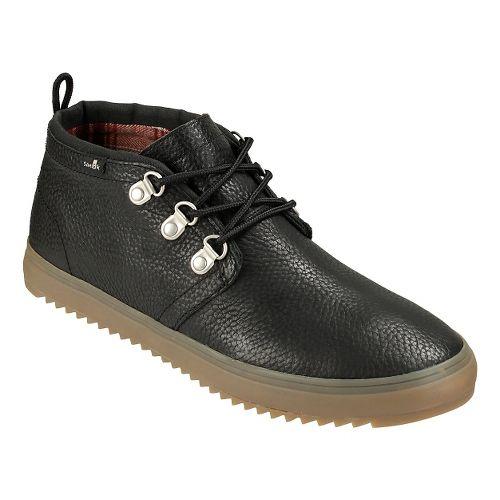 Mens Sanuk Cargo Deluxe Casual Shoe - Black 12