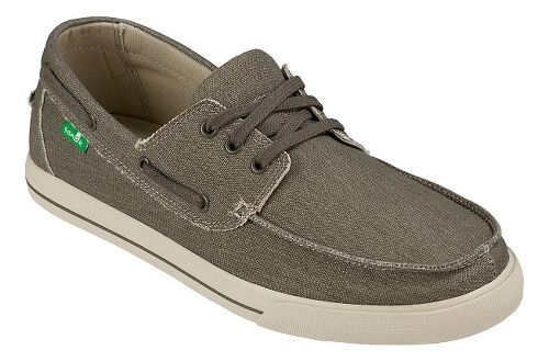 Mens Sanuk The Sea Man Casual Shoe - Brown Washed 7