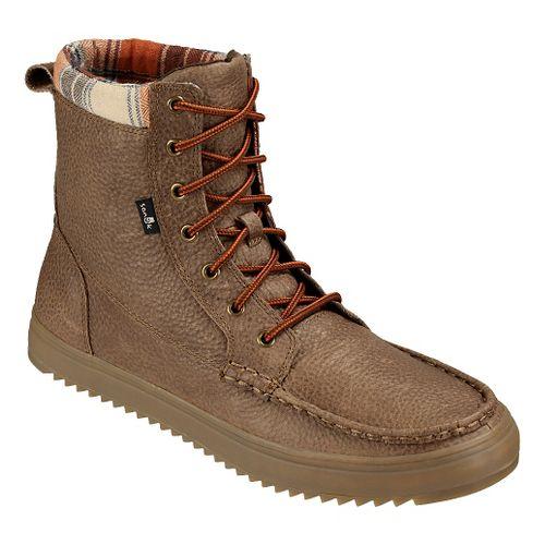 Mens Sanuk Statton Deluxe Casual Shoe - Wheat 8