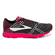 Womens Brooks Hyperion Racing Shoe - Black/Pink 7.5