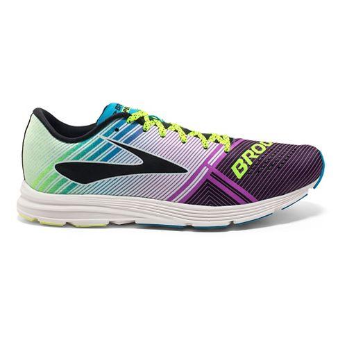 Womens Brooks Hyperion Racing Shoe - Purple/Blue 5