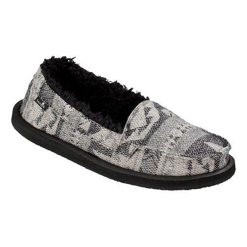 Womens Sanuk Shorty TX Chill Casual Shoe - Charcoal Multi 11