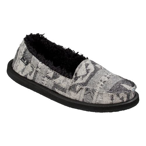 Womens Sanuk Shorty TX Chill Casual Shoe - Charcoal Multi 5