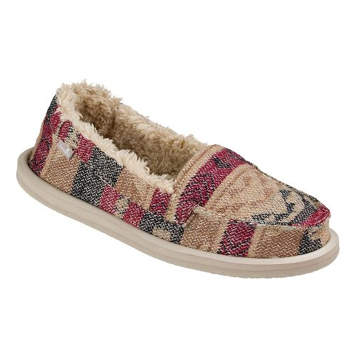 Womens Sanuk Shorty TX Chill Casual Shoe - Natural Multi 5
