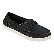 Womens Sanuk Pair O Sail Casual Shoe - Washed Black 6