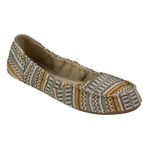 Womens Sanuk Elle V. Eight Prints Casual Shoe - Natural Bayridge 9