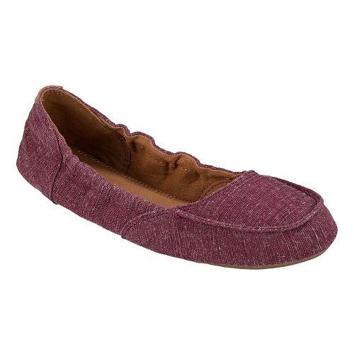 Womens Sanuk Elle V. Eight Casual Shoe - Burgundy 5