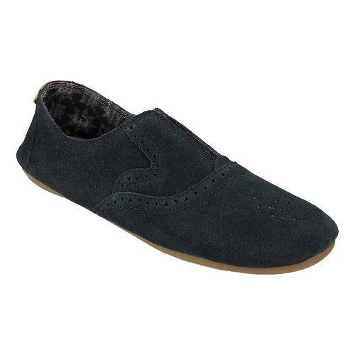 Womens Sanuk Adaline Casual Shoe - Washed Black 7.5