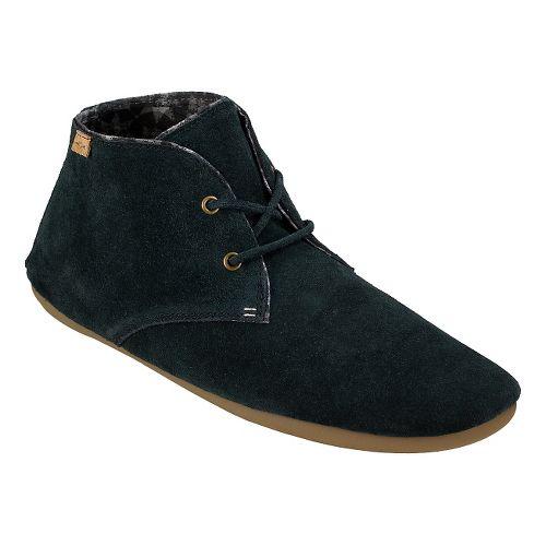 Womens Sanuk Ivana Chukka Casual Shoe - Washed Black 6