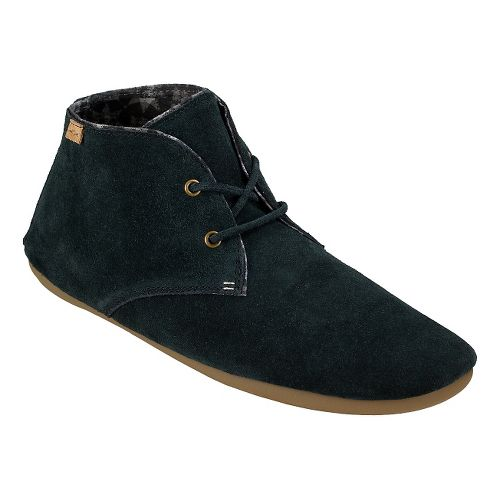 Womens Sanuk Ivana Chukka Casual Shoe - Washed Black 7.5
