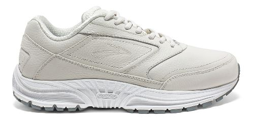 Womens Brooks Dyad Walker Walking Shoe - White 7.5