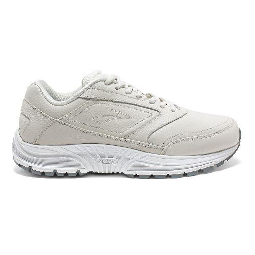 Womens Brooks Dyad Walker Walking Shoe - White 8.5